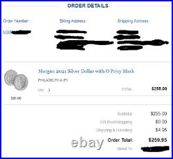 2021 Morgan and Peace Dollar Complete Set CC O D S P and Peace Dollar CONFIRMED