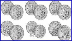 2021 Morgans + Peace Dollar Complete Set (CC O D S P + Peace) CONFIRMED orders