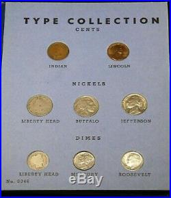 20th Century Set Type Complete Set United States 21 Coins many BU & AU #AH47