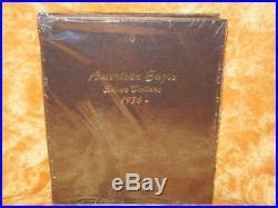 34 Coin Complete Set (1986-2019) Silver American Eagles in a Dansco Album