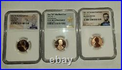 3- coin set 2019-W COMPLETE WEST POINT LINCOLN CENT NGC PF69, RPF69, MS69