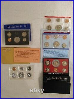 75+ Proof & Mint Sets PLUS 30+ Extra Complete Sets PLUS+ BONUS Graded Coins