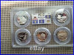 90 % Silver State Quarter complete set 1999 thru 2008 GRADED PR69 DCAM by PCGS