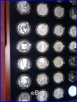 99-08 silver state quarter complete proof set. All 50 coins included! BEAUTIFUL