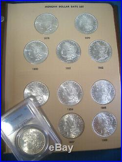 All 32 Coin! 1878 1921 COMPLETE Collection MORGAN SILVER Dollar Date Set Lot