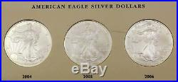 American Eagle Silver Dollars Complete Set Of 32 Coins 1986-2017 Uncirculated