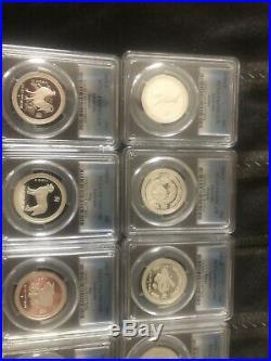Australian Lunar 1/2 Oz Complete Silver Proof Set