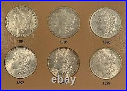 Awesome 32 Coin COMPLETE 1878-1921 Morgan Silver Dollar Date/Mint Set, Hi Grade