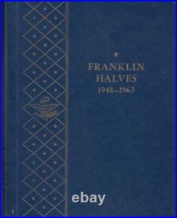 Bu Choice Gem Complete Franklin Halves Set 1948-1963 Pds (35 Pieces) Whitman