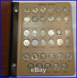COMPLETE 1913-1938 P D S Buffalo Nickel Set Circulated to Uncirculated #19675H