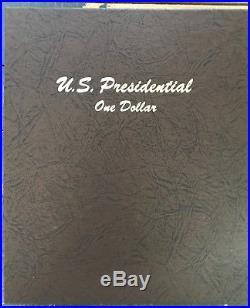 COMPLETE 2007-2016 PRESIDENTIAL $1 COIN SET P & D IN DANSCO BINDER BU from US