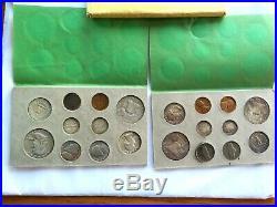 COMPLETE 20 COIN 1958 UNC US DOUBLE Mint Set P & D SET INNER U. S. MINT ENVELOPE