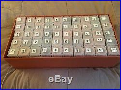 COMPLETE 50 ROLLS SET 1999/2008 STATEHOOD QUARTERS IN TUBES Minted-Philadelphia