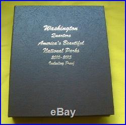 COMPLETE DANSCO #8146 ALBUM SET ATB NATIONAL PARKS WithPROOFS 2010-2015