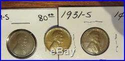 COMPLETE Lincoln Wheat Cent Set-141 Coins-1909S, 1909S VDB, 1922 No D, Etc. #2740