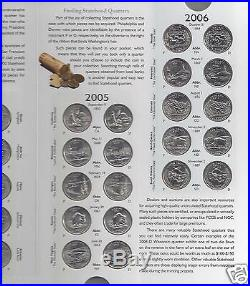 COMPLETE SET 50 BU State Quarters Collection DE to HI + 2009 DC & US TERRITORIES