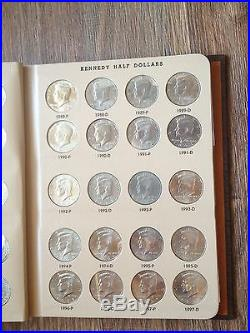 COMPLETE SET DANSCO KENNEDY HALF DOLLAR COLLECTION 1964-2017 total 100 HALVES