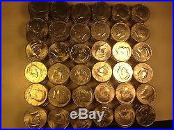 COMPLETE SET KENNEDY HALF DOLLAR 1971 2013 + 2014 p & d 86 coins with key date