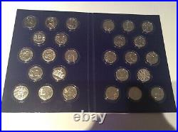 COMPLETE SET OF 26 A Z. ALPHABET 2019 10p COINS UNCIRCULATED IN FOLDER