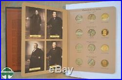COMPLETE SET OF PRES. $ IN DANSCO ALBUMS WITH UNC & PROOF COINS 2007 to 2016