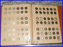 COMPLETE SILVER ROOSEVELT DIME SET 1946 pds 2012 pds 168 SILVER CLAD PROOF BU