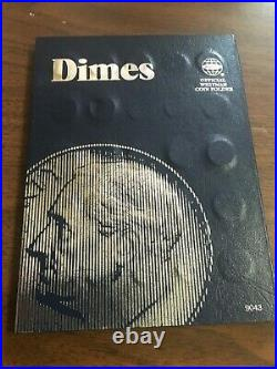 COMPLETE Set Silver/Clad Roos. Dimes 1946 2021 in Coin Folder Year -Date Set