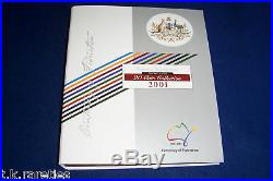 Centenary of Federation 2001 complete UNCIRCULATED set in folder. Nice set