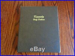 Complete 106 piece KENNEDY HALF DOLLAR Set 1964 2020 GEM BU in Dansco Album