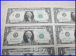 Complete 12 Note District Set Of 1963 $1 Frn Federal Reserve Star Notes Gem Unc