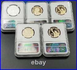 Complete 13 Coin 2016 Silver Proof Set NGC PF70 UCAM Graded Ultra Cameo