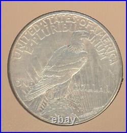 Complete 1921-1935 Peace Dollar 24-Coin Set (Silver) DANSCO SET MOSTLY AU BU