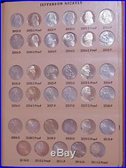 Complete 1938 2019-S Jefferson Nickel Set + Proofs 234 High Grade + BU Dansco