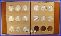Complete 1986-2018 American Silver Eagle Collection Set Uncirculated 33 Coins