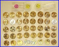 Complete 2000-2019 Uncirculated P-D Set of Sacagawea / Native American Dollars