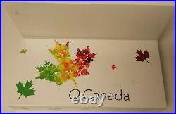 Complete 2007 2016 Canada CHRISTMAS HOLIDAY SANTA TREE SNOWMAN 10 COIN SETS