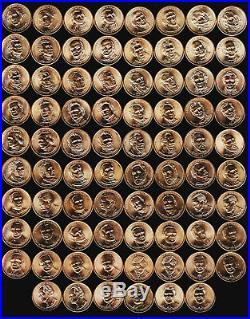 Complete 2007-2016 Presidential $1 Coin Set P & D Mints All Bu Sent In Tubes