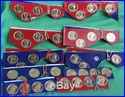 Complete 2007 thru 2016 Presidential Dollar Coin Lot Cut Mint Sets 78 P and D $1