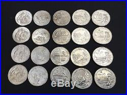 Complete (20) Set of 2019 ATB BU Quarters, P, D, S, W For All Five Parks