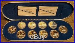Complete 20 coin set 1990-1999 Canadian Mint Aviation Commemorative $20 Silver