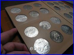 Complete 21pc Set Dansco Album 7176 Eisenhower Dollars 1971-78