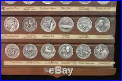 Complete 36 Medal Set Longines-Wittnauer Sterling Series Heritage of the West