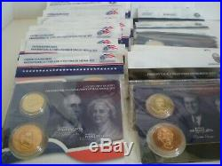 Complete 41 Set Collection. 2007-2016 Pres. $1 Coin & First Spouse Medal Sets