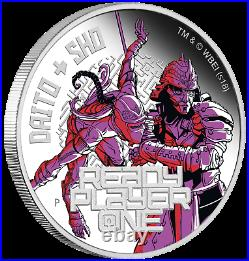 Complete 4-Coin Set 2018 Ready Player One 4x1oz SIlver Proof $1