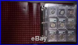 Complete 50 Coin Classic Commemorative set in PCGS 64/65 many CAC must see