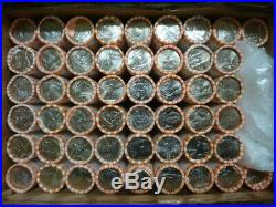 Complete 50 Rolls D Set 1999-2008 Statehood Uncirculated Quarters in Bank Rolls
