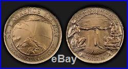 Complete 67 Heraldic Art Medal Restrike Set In Copper Mintage 30 Sets