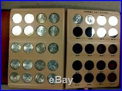 Complete 82 Coin 1964-2008 P&D Kennedy Half Dollar Set In A Dansco 7166 Album