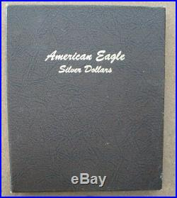 Complete American Silver Eagle Set 1986 To 2019 Gem Bu (34 Coins)