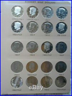Complete Bu Kennedy 1964-2011 2012-2019 Pdsw Silver Proofs 1998s Matte 2014 Set