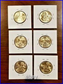 Complete Cir. 44 Coin Set! (2000-2021 P&D) Sacagawea Native American Dollars